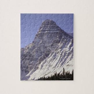Mount Chepren, Banff National Park, Alberta, Jigsaw Puzzle