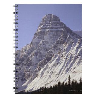 Mount Chepren, Banff National Park, Alberta, Spiral Notebook