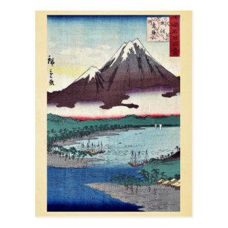 Mount Chokai by Utagawa,Hiroshige Post Cards
