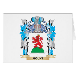 Mount Coat of Arms - Family Crest Greeting Card