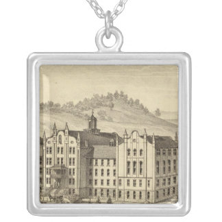 Mount de Chantal, near Wheeling, West Virginia Silver Plated Necklace