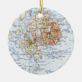 Mount Desert Island Ornament