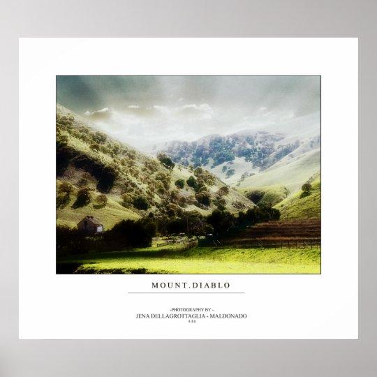Mount Diablo Poster