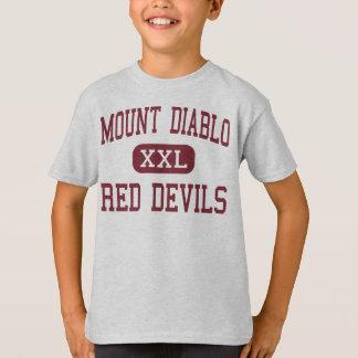 Mount Diablo - Red Devils - High - Concord Tshirts