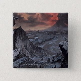 Mount Doom 15 Cm Square Badge