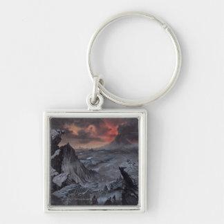 Mount Doom Key Ring