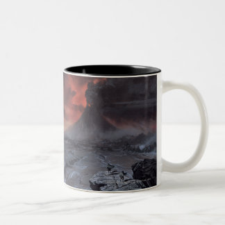 Mount Doom Two-Tone Coffee Mug