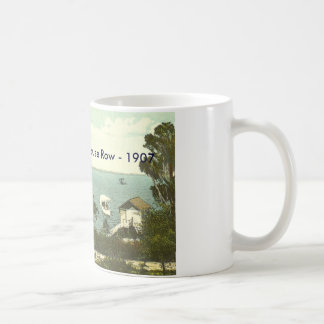 Mount Dora, FL - Boat House Row - 1907 Coffee Mug