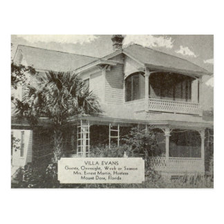 Mount Dora, FL - Guest House Postcard