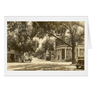 MOUNT DORA, FLORIDA - 1947 NOTE CARD