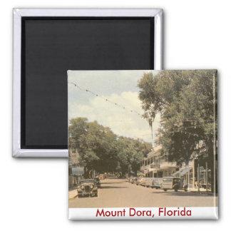 Mount Dora, Florida Square Magnet