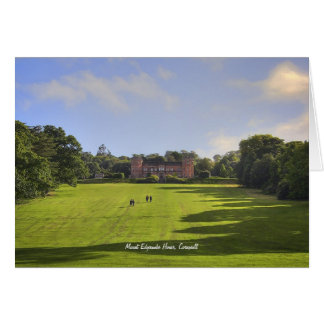 Mount Edgcumbe House blank notelet / card