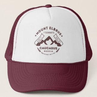 Mount Elbrus Caucasus Russia Trucker Hat