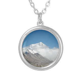 Mount Everest 10 Silver Plated Necklace