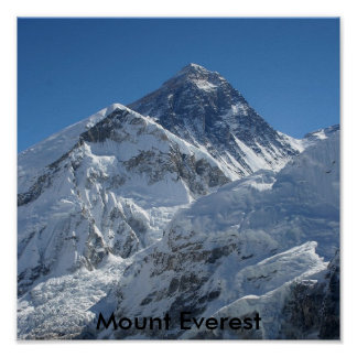 Mount Everest #1 Poster