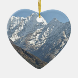 Mount Everest 3 Christmas Ornament