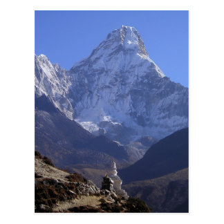 Mount Everest 4 Postcard