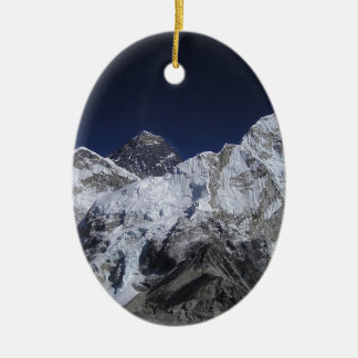 Mount Everest 5 Christmas Ornament