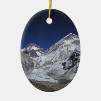 Mount Everest 6 Christmas Ornament
