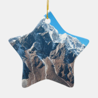 Mount Everest 7 Christmas Ornament