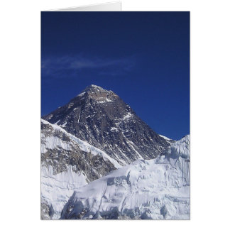 Mount Everest Card