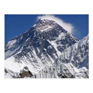 Mount Everest - Earth's Highest Mountain Postcard