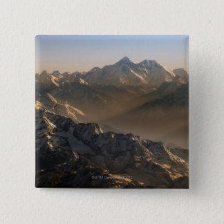 Mount Everest, Himalaya Mountains, Asia 15 Cm Square Badge