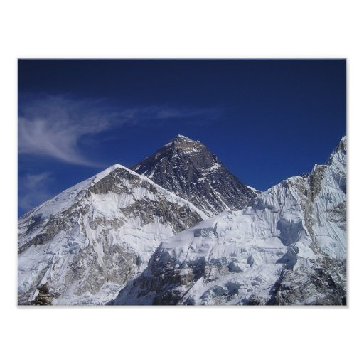 Mount Everest Photo Posters