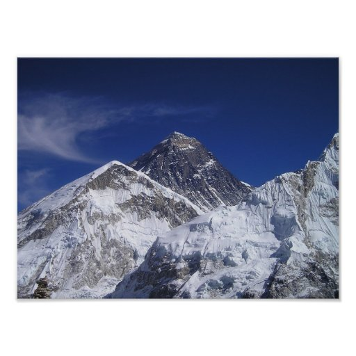 Mount Everest Photo Print