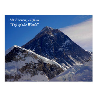Mount Everest Postcard