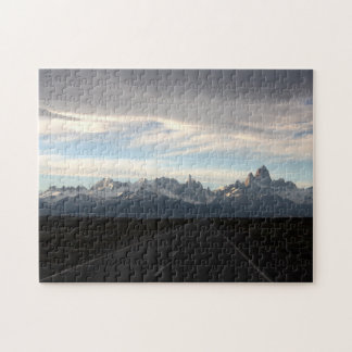 Mount Fitz Roy And Andes Range Jigsaw Puzzles