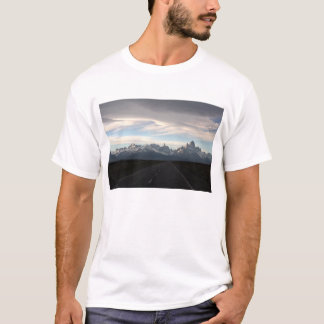 Mount Fitz Roy And Andes Range T-Shirt