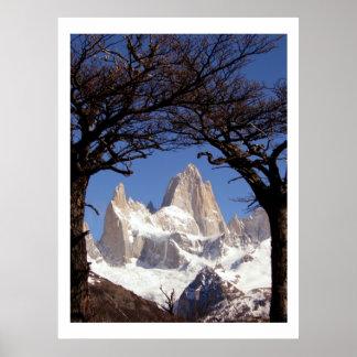Mount Fitz Roy Patagonia Poster