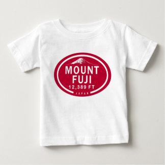 Mount Fuji 12,389 FT Japan Mountain Baby T-Shirt