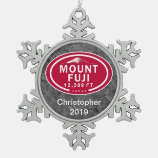 Mount Fuji 12,389 FT Japan Mountain Ornament