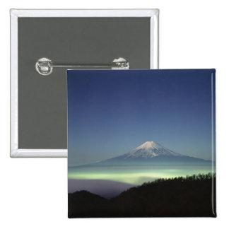 Mount Fuji 15 Cm Square Badge