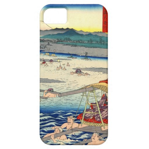 Mount Fuji from Oi River 1858 iPhone 5 Cover