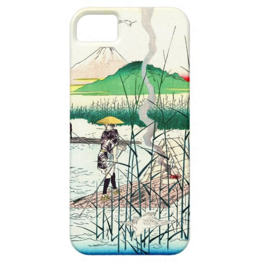 Mount Fuji from Sagami River 1858 iPhone 5 Cover
