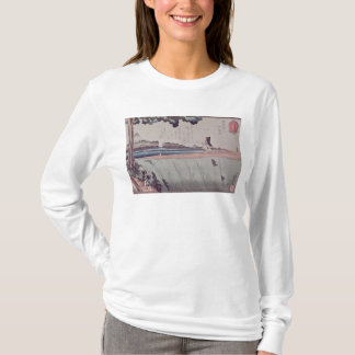 Mount Fuji from the Sumida River embankment T-Shirt