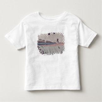 Mount Fuji from the Sumida River embankment Toddler T-Shirt