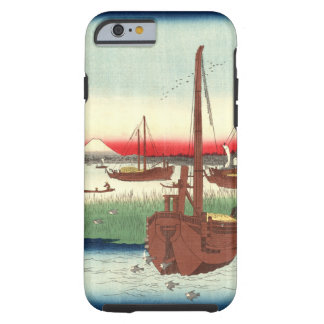 Mount Fuji from Tokyo Bay 1858 Tough iPhone 6 Case