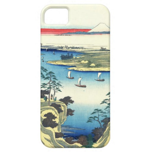 Mount Fuji from Tone River 1858 iPhone 5 Cases
