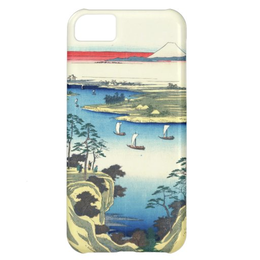 Mount Fuji from Tone River 1858 iPhone 5C Case