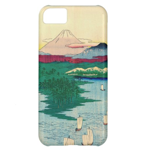 Mount Fuji from Yokohama 1858 Cover For iPhone 5C