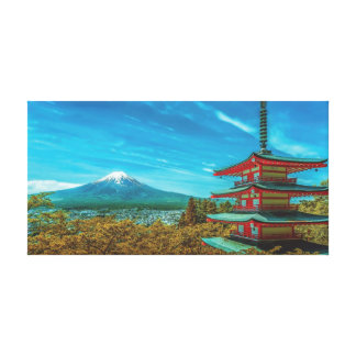 Mount Fuji, Japan. Canvas Print