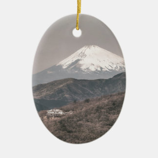 Mount Fuji, Japan Christmas Ornament