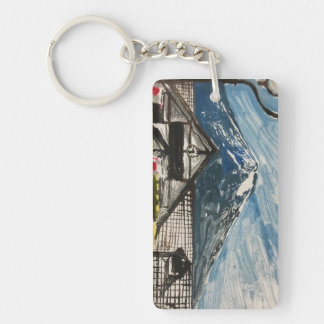Mount Fuji Japan Keychain