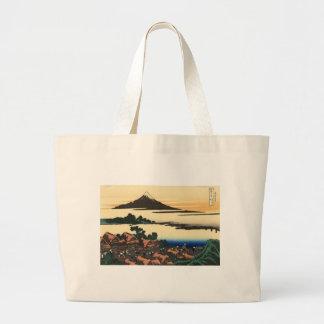 Mount Fuji Japan Sunset Large Tote Bag