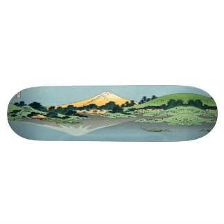 Mount Fuji reflects 21.6 Cm Skateboard Deck