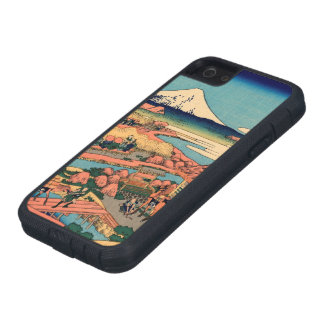 Mount Fuji seen from the tea plantation iPhone 5 Cases